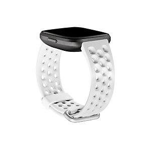 Fitbit FB171SBWTS, Fitbit, Blanco, Aluminio, Elastómero, S, Versa 2, 180 - 220 mm