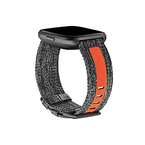 Fitbit FB171WBGYTAL, Fitbit, Carbón vegetal, Naranja, Aluminio, Sintético, L, 180 - 220 mm