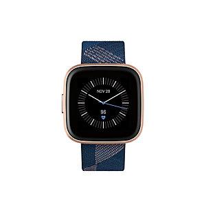 "Fitbit Versa 2, 3,55 cm (1.4""), AMOLED, Pantalla táctil, Wifi, 38 g, Negro, Oro FB507RGNV"