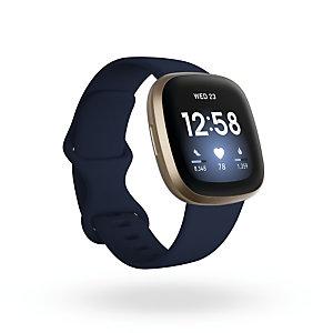 Fitbit Versa 3, AMOLED, Pantalla táctil, Wifi, GPS (satélite) FB511GLNV