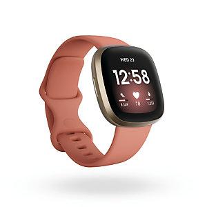 Fitbit Versa 3, AMOLED, Pantalla táctil, Wifi, GPS (satélite) FB511GLPK