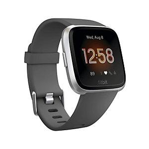 "Fitbit Versa Lite, 3,4 cm (1.34""), LCD, Pantalla táctil, Plata FB415SRGY"