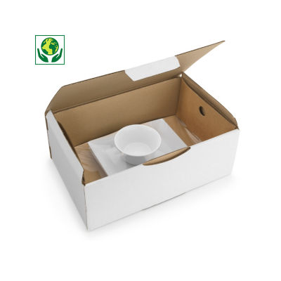 Fixierverpackung Korrvu®, weiß
