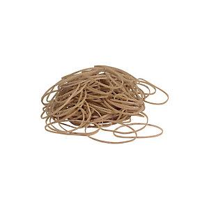 FIXO Gomas elásticas, 100 x 2 mm, 100 g, marrón