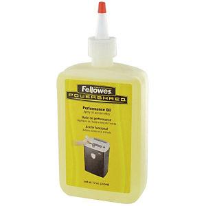 Flacon de 350 ml de l'huile de coupe Fellowes pour destructeur