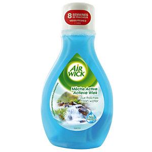 Flacon mèche 2 en 1 Airwick eaux fraîches Odor Stop 375 ml
