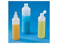 Flacon plastique transparent économique
