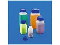 Flacon plastique transparent haute sécurité