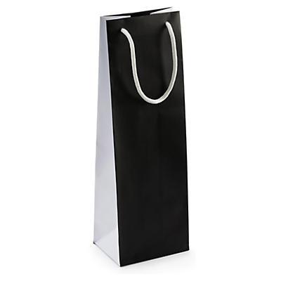 Flaschen-Tragetaschen Black & White
