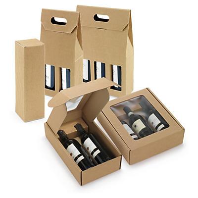 Flaschenverpackung Natur