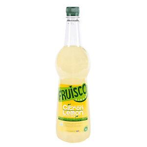 Fles siroop gele citroen, Fruisco 1 liter