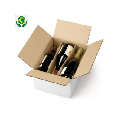 Flesverpakking met horizontale ligbedverdeling