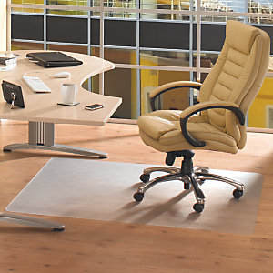 Floortex Cleartex® Ultimat Alfombra protectora Policarbonato / suelo duro / rectangular / 88 x 119