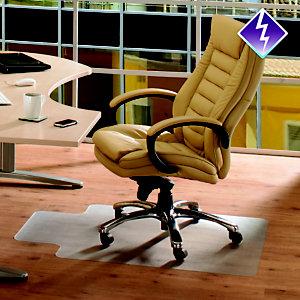 FLOORTEX COMPUTEX® Computex Alfombra protectora PVC / moqueta / lengüeta / 90 x 120 cm
