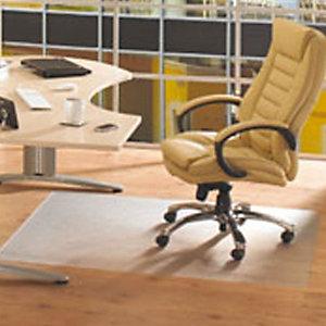 Floortex Salvapavimento protettivo in policarbonato - Forma rettangolare: Dimensioni cm 120 x 134