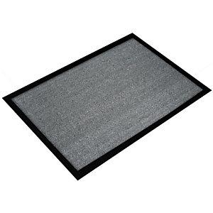 Floortex Tapis d'accueil Doortex 60 x 80 cm gris