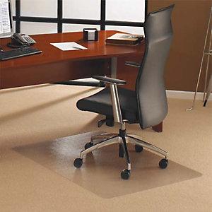 FLOORTEX Tapis protège-sol polycarbonate pour sol dur rectangle 121X134