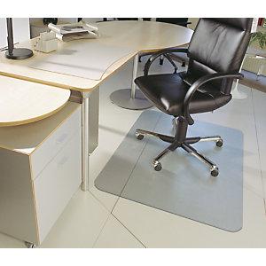 Floortex Tappeto salvapavimento in PVC, Trasparente, 120 x 150 cm