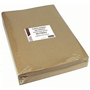 Florio, Confezionamento, Cf50ff carta kraft avana 100x140 80, 1403A