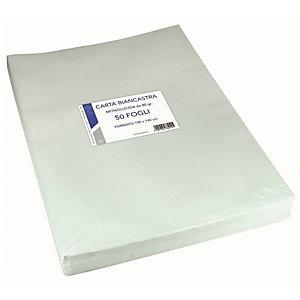 Florio, Confezionamento, Cf50ff carta kraft bianca100x140 80, 2145