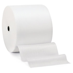 Foam packaging, foam wrap rolls