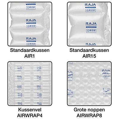 Film polyéthylène pour système de calage air RAJA##Folie van polyethyleen voor luchtkussenmachine RAJA