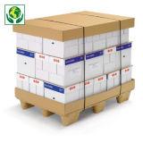 Fondo e coperchio in cartone per scatole modulabili