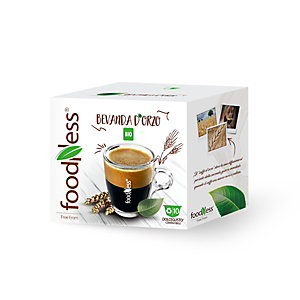 foodNess® Capsula Bevanda d'Orzo Bio, Compatibile Dolcegusto®* (confezione 10 capsule)