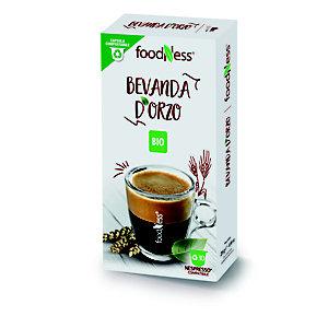 foodNess® Capsula Bevanda d'Orzo Bio, Compatibile Nespresso®* (confezione 10 capsule)