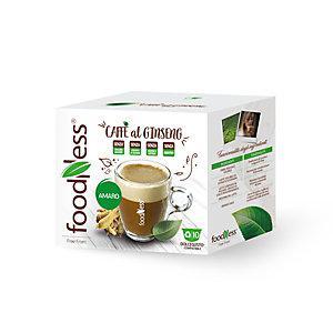foodNess® Capsula Ginseng Amaro, Compatibile Dolcegusto®* (confezione 10 capsule)