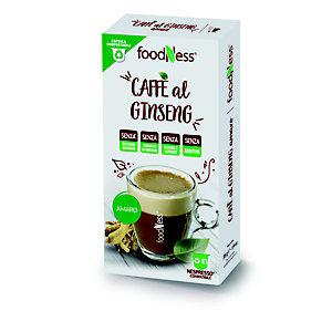 foodNess® Capsula Ginseng Amaro, Compatibile Nespresso®* (confezione 10 capsule)