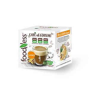 foodNess® Capsula Ginseng Classico, Compatibile Lavazza A Modo Mio®* (confezione 10 capsule)