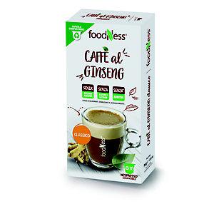 foodNess® Capsula Ginseng Classico, Compatibile Nespresso®* (confezione 10 capsule)