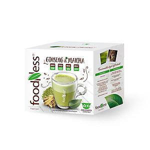 foodNess® Capsula Ginseng & Matcha, Compatibile Dolcegusto®* (confezione 10 capsule)