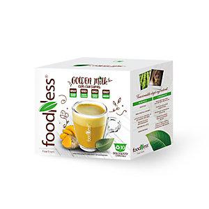 foodNess® Capsula Golden Milk, Compatibile Dolcegusto®* (confezione 10 capsule)