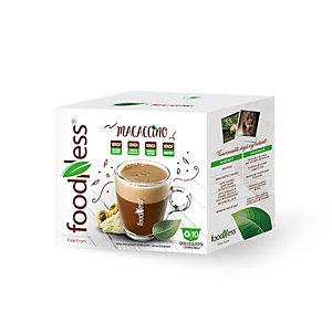 foodNess® Capsula Macaccino, Compatibile Dolcegusto®* (confezione 10 capsule)