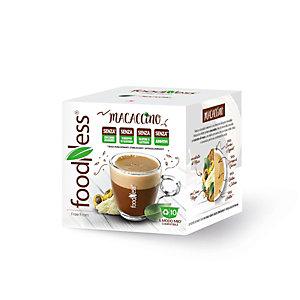 foodNess® Capsula Macaccino, Compatibile Lavazza A Modo Mio®* (confezione 10 capsule)