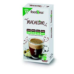 foodNess® Capsula Macaccino, Compatibile Nespresso®* (confezione 10 capsule)