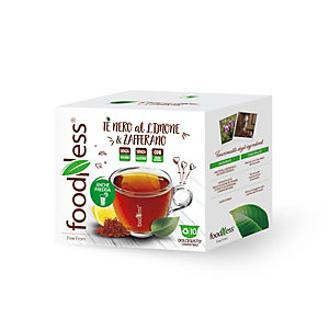 foodNess® Capsula Tè nero Limone & Zafferano, Compatibile Dolcegusto®* (confezione 10 capsule)