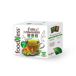 foodNess® Capsula Tè verde & Ashwagandha, Compatibile Dolcegusto®* (confezione 10 capsule)