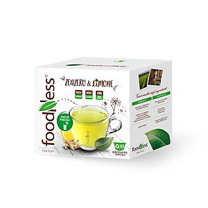 foodNess® Capsula Tisana Zenzero & Limone, Compatibile Dolcegusto®* (confezione 10 capsule)