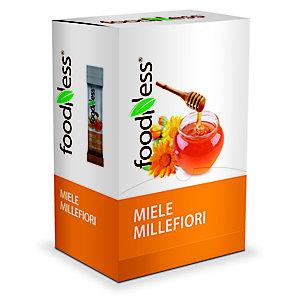 foodNess® Miele millefiori confezionato in bustina monodose, 6 g, confezione 100 bustine
