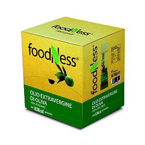 foodNess® Olio Extra Vergine d'Oliva confezionato in bustina monodose, 10 ml (confezione 100 pezzi)