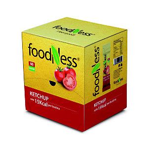 foodNess® Salsa Ketchup confezionata in bustina monodose, 12 ml (confezione 100 pezzi)