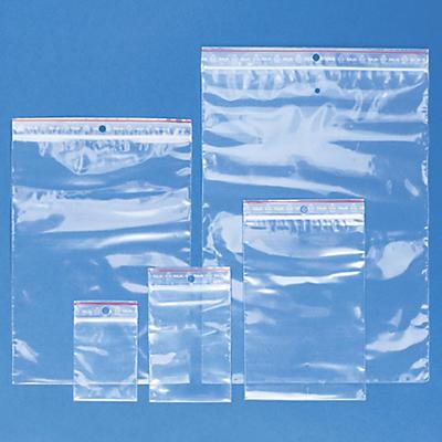 Förpackning med 1000 blixtlåspåsar -  5 olika storlekar i 50 my - Rajagrip Super - Raja