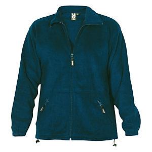 Forro polar unisex azul marino XL