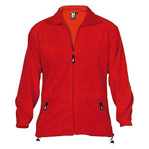 Forro polar unisex rojo XL