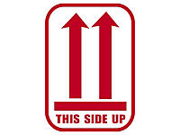 Forsendelsesetiketter - This side up