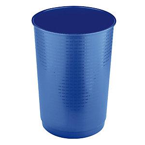 Fraaie blauwe papiermand 40 L