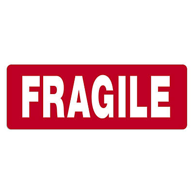 Fragile parcel and envelope labels